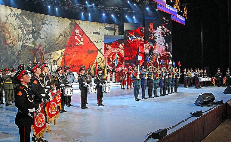 Defender of the Fatherland Day gala event