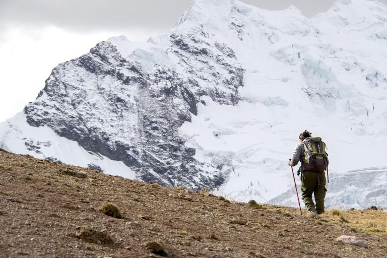 Trekking the Ausangate Mountain takes about six-days.