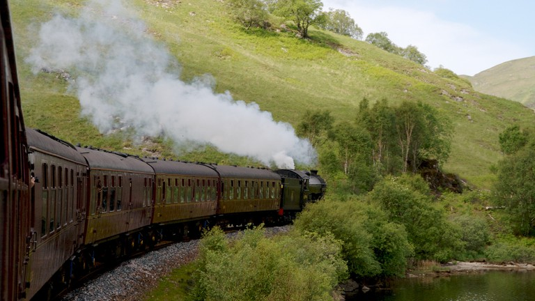 The Jacobite Steam Train | © Christoph Strässler/Flickr