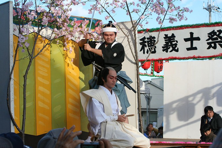 Reenactment for a Gishi-sai festival in Hyogo | © Corpse Reviver/WikiCommons