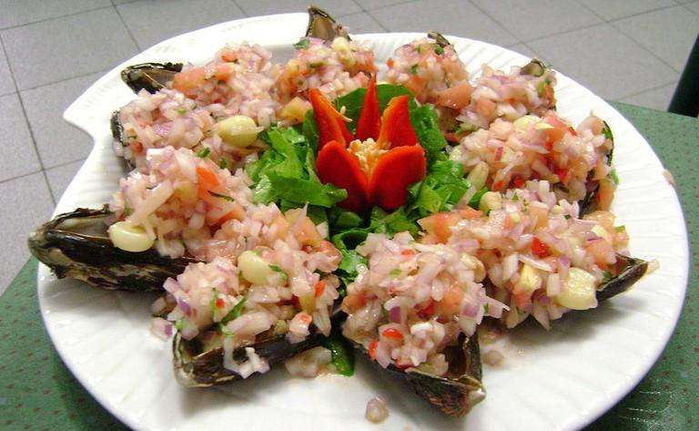 Choritos a la chalaca|©Dtarazona/Wikipedia