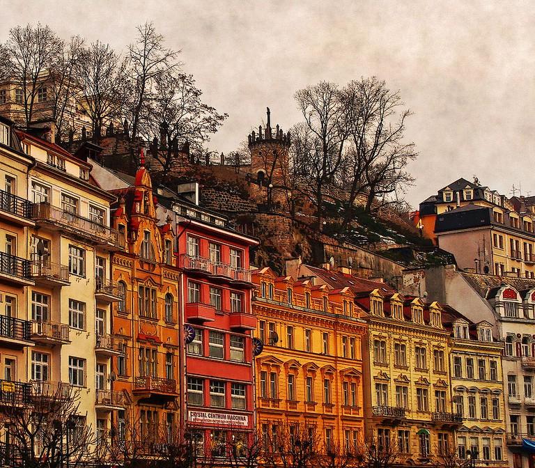 Karlovy Vary's charming streets | ©Evlahos / Wikimedia Commons