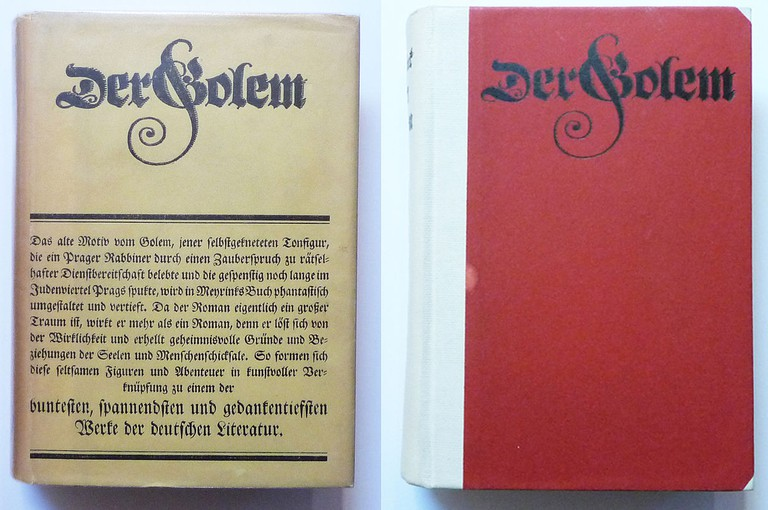 First edition of The Golem, published in German | ©Selfie756 / Wikimedia Commons