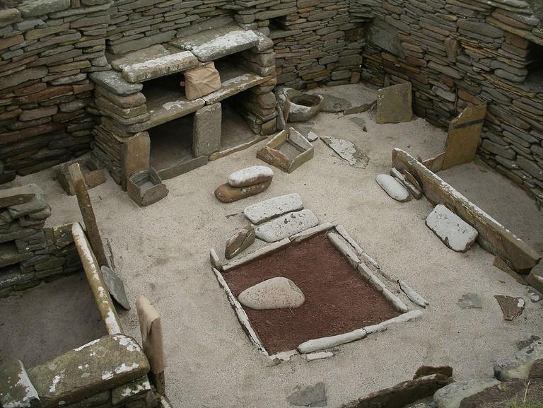 Stone Age Furniture at Skara Brae | © Shadowgate/Flickr