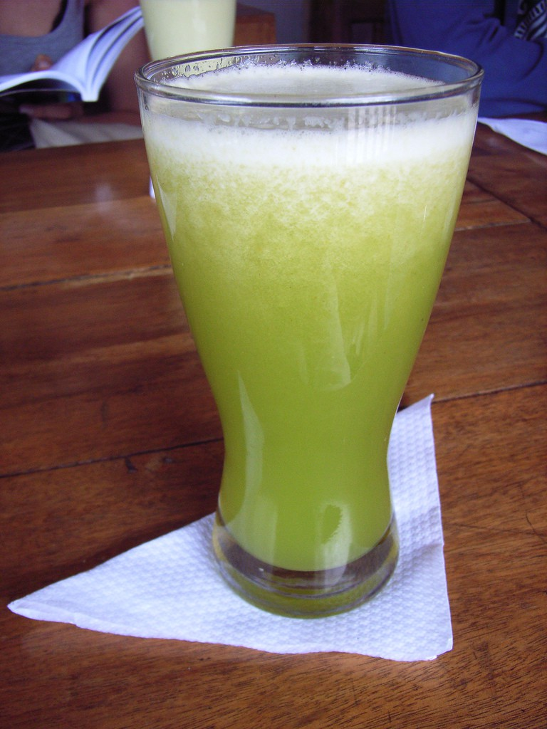 Lulo Juice in Colombia