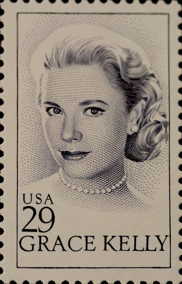 Grace Kelly U.S. Stamp | © John Flannery / Flickr