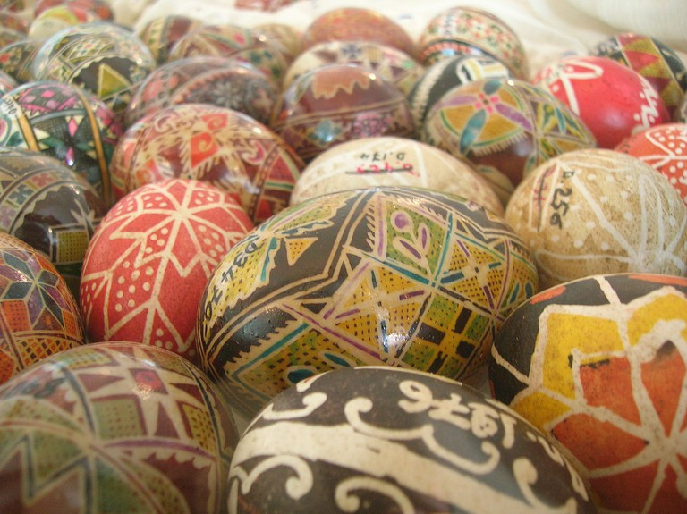 Romanian Easter eggs | © TwoWings/WikiCommons