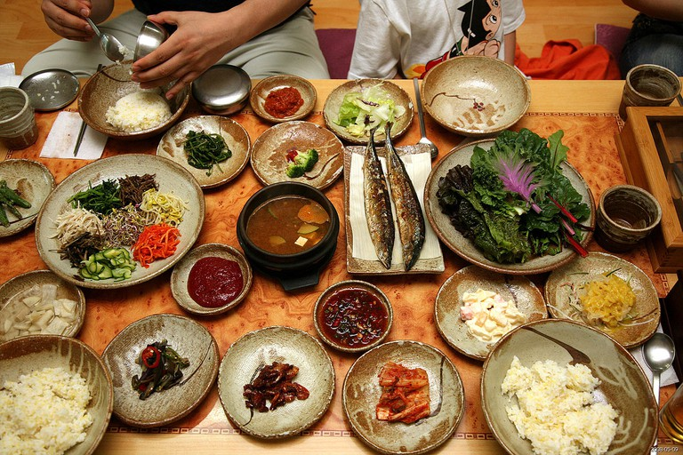 Korean Food © Wikimedia