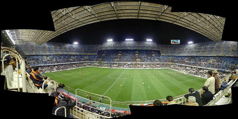 The Mestalla Stadium, Valencia