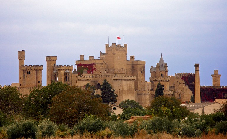 Palacio de Olite   ©Jorab / Wikimedia Commons