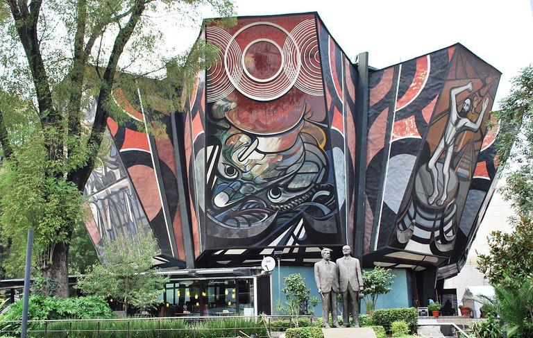 Polyforum Cultural Siqueiros | © AlejandroLinaresGarcia/WikiCommons