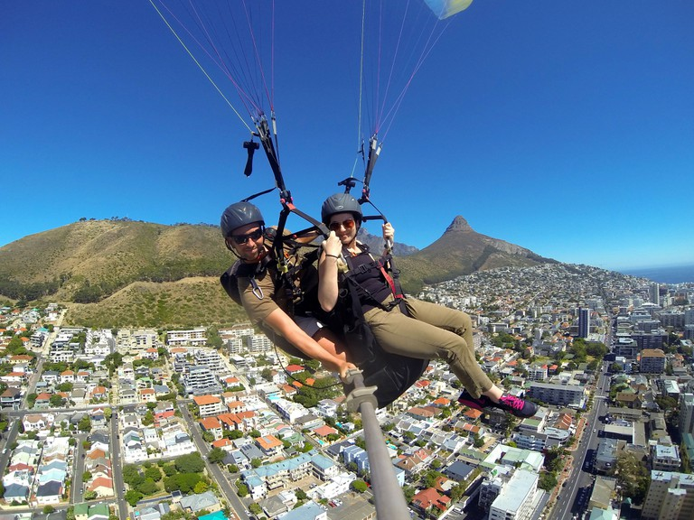 Paragliding in Cape Town © leyla.a / Flickr