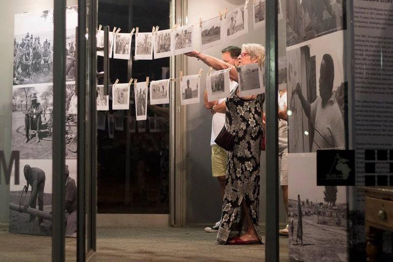 An exhibition at KZNSA| © Courtesy KZNSA