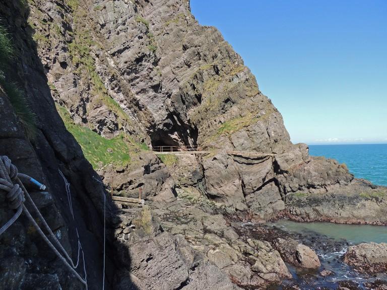 Gobbins Cliff Path   © Philip McErlean/ Flickr