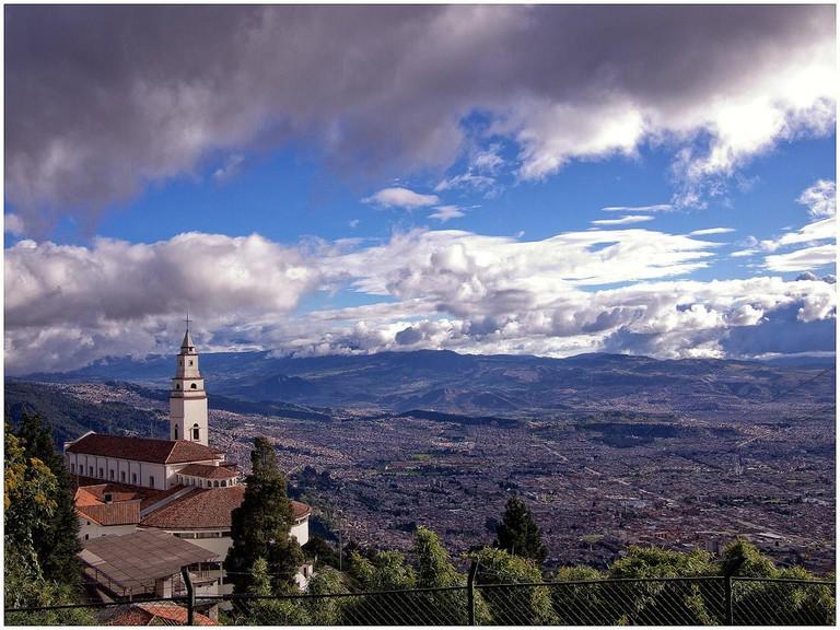Bogota's Famous Monserrate   © Juan Carlos Pachon/Flickr