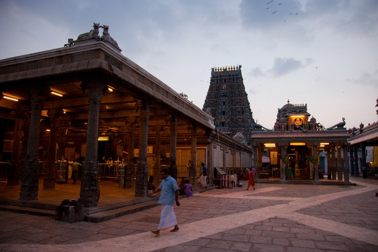 Kapaleeswarar Temple in Mylapore is one of Chennai's oldest places of worship