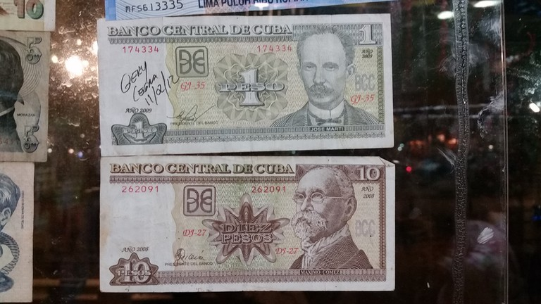 Understand the difference between Cuban Convertible and Cuban Pesos