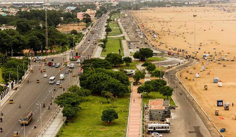 Marina Beach   © Aravindan Ganesan / Flickr