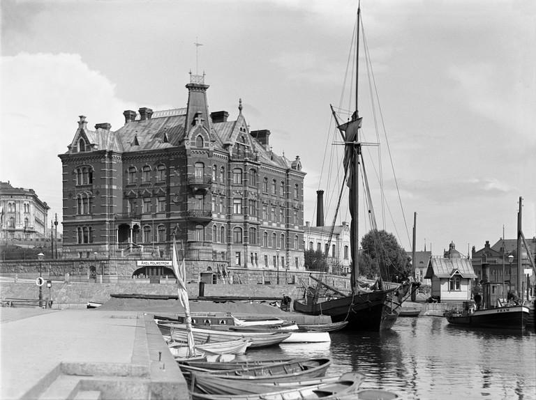 Inha's photo of Helsinki harbor taken in 1908 | © I.K.Inha / Flickr