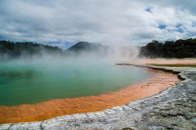 Rotorua Geothermal Springs | © Tom Hall/Flickr