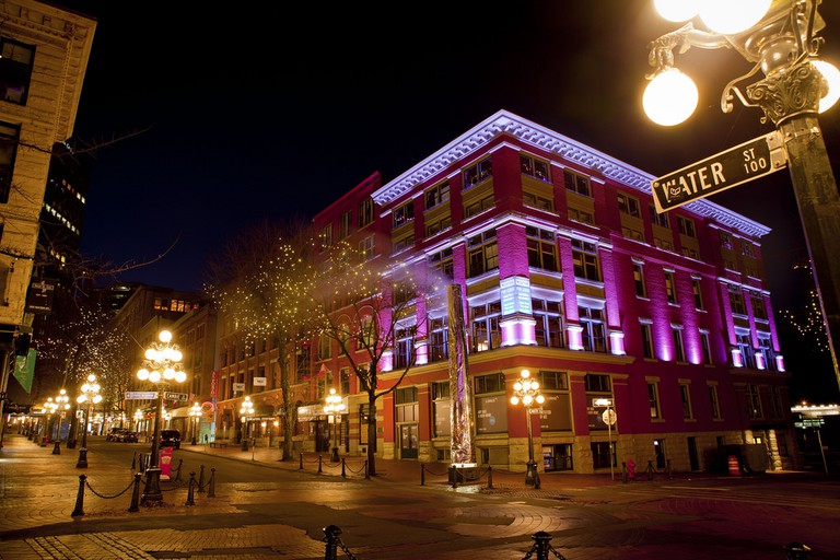Gastown at night | © GoToVan / Flickr