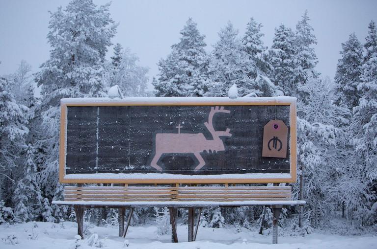 Matti Aikio's work often reflects the struggles of the Sami people/ Matti Aikio/ Flickr