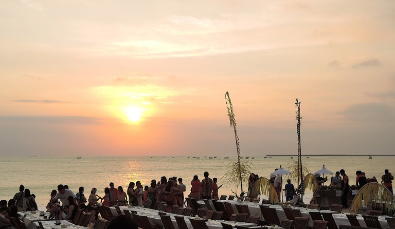 Seafood Cafe Jimbaran Beach