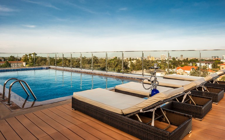 Rooftop pool - Photo courtesy of Four Points by Sheraton Nairobi