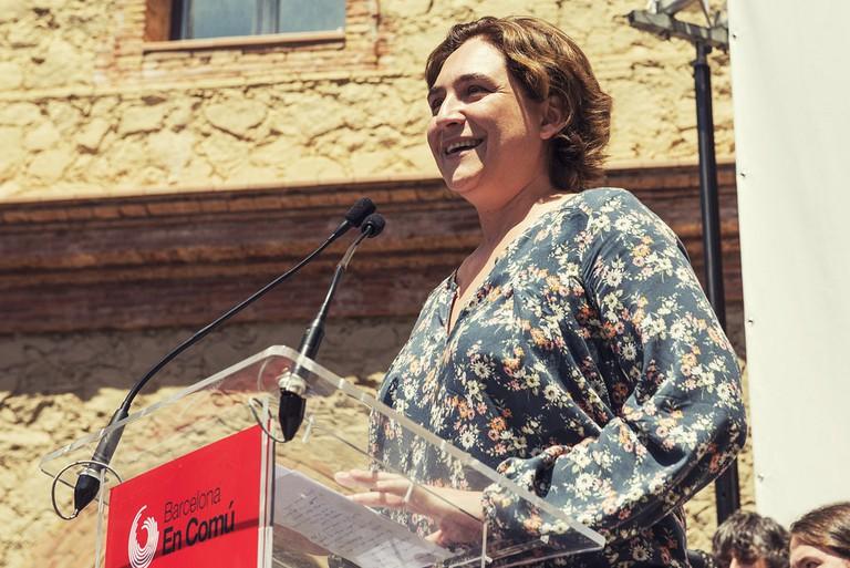 Ada Colau, Mayor of Barcelona | © Barcelona En Comú/Marc Lozano/Flickr