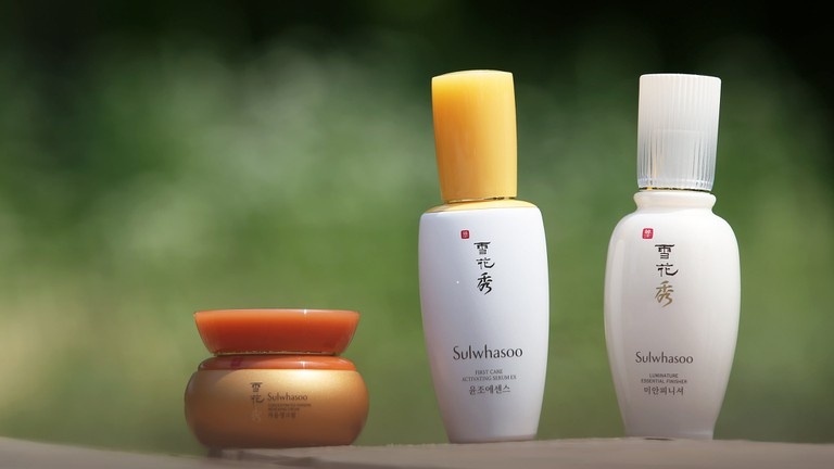 Sulwhasoo skin care products   © KoreaNet / Flickr