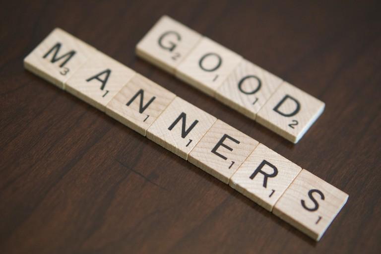 Good manners | Photo credit: EKG Technician Salary / Flickr