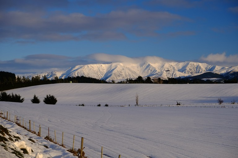 Mt Hutt Range | © Francis Vallance/Flickr
