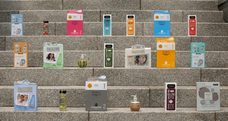 Korean Sheet Masks for every skin problem   © KoreaNet / Flickr