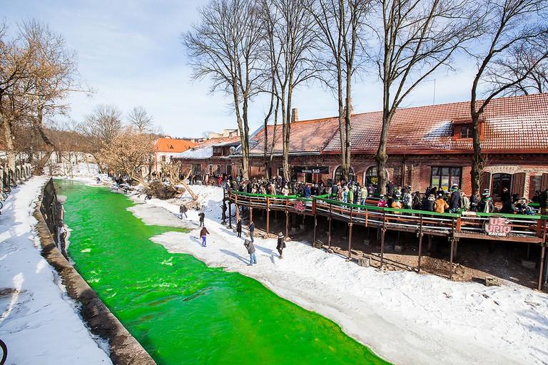 Green River in Vilnius | Courtesy of Elena Grimalienė