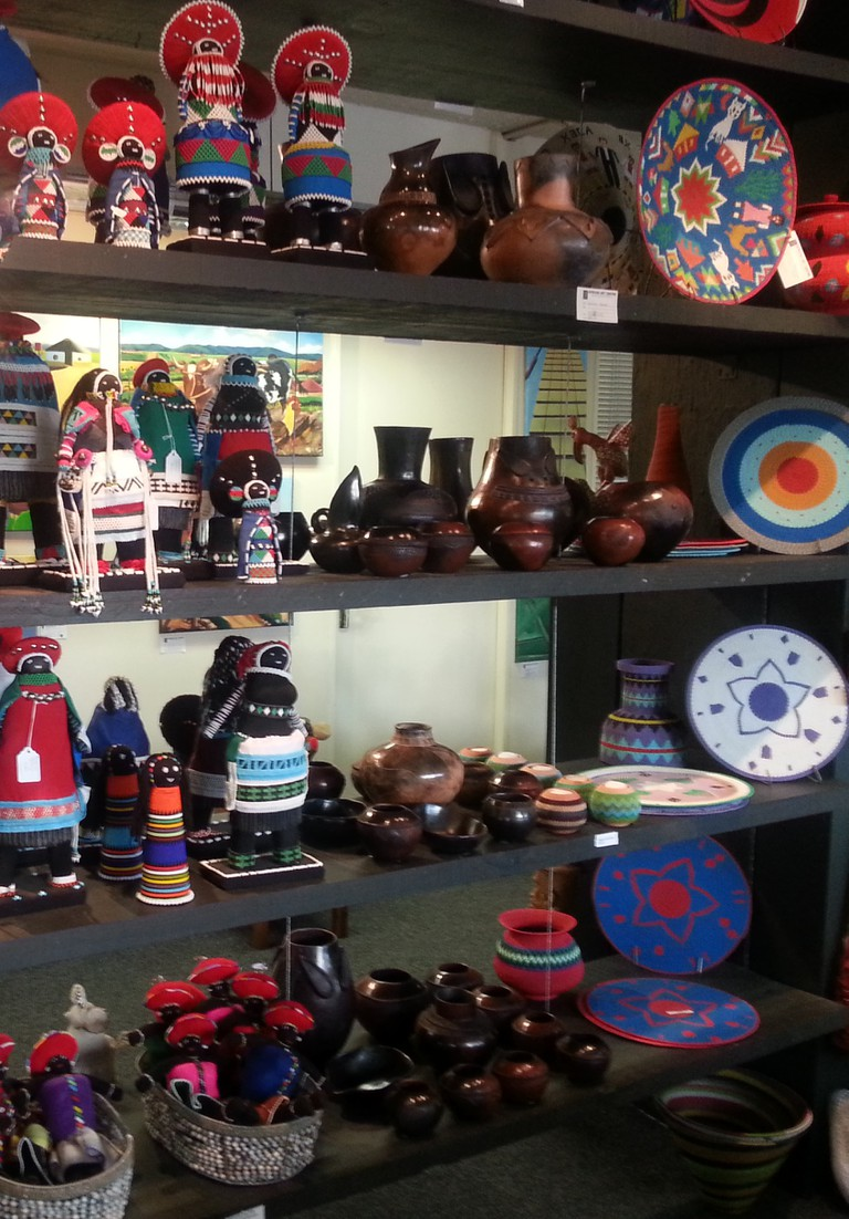 The Centre sells locally crafted products providing jobs to thousands | © Courtesy African Art Centre