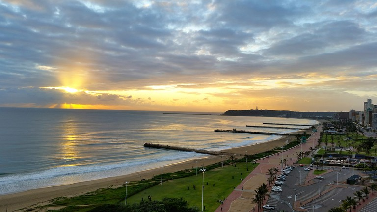 Durban's North Beach has seen a revamp since the World Cup in 2010