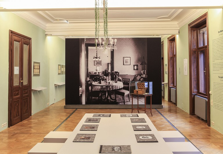 The dining room inside the home, now museum, of Sigmund Freud   © Oliver Ottenschlaeger / The Sigmund Freud Museum