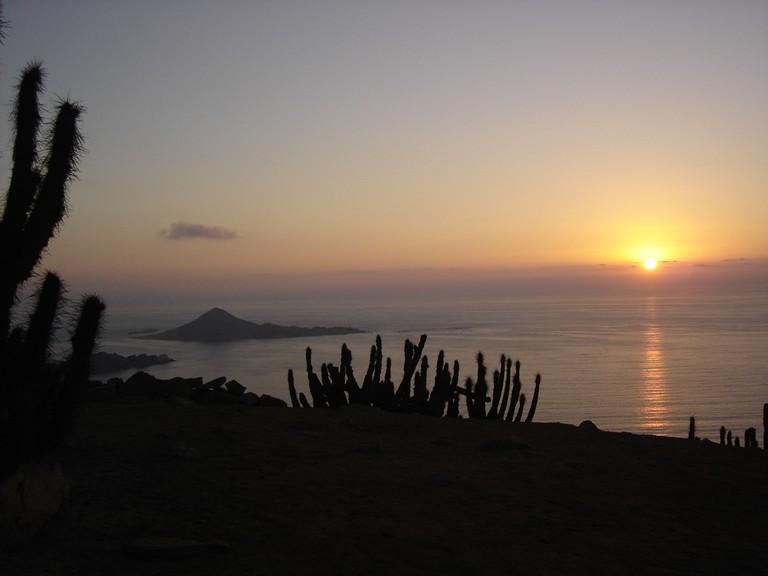 Chile - Atardecer en Pan de Azúcar II © muypop