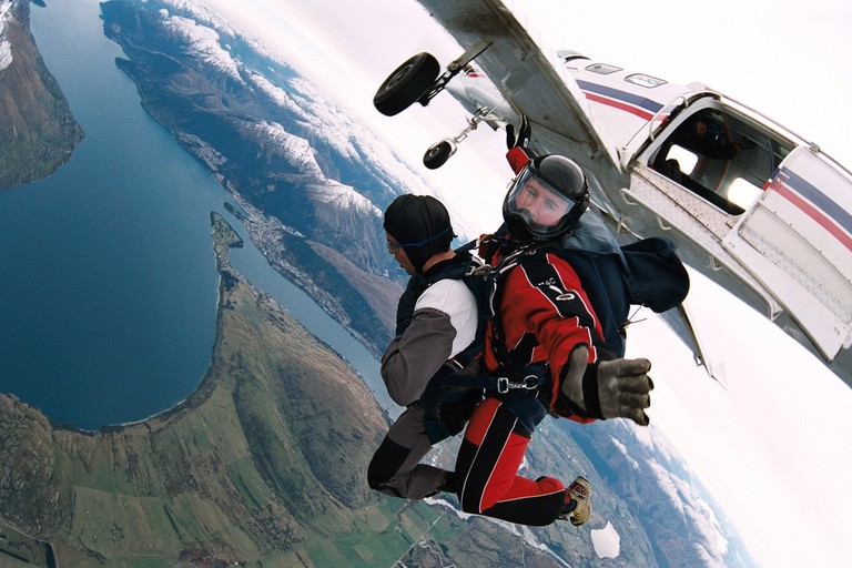 NZONE Skydiving   © Michael Napoleon/Flickr