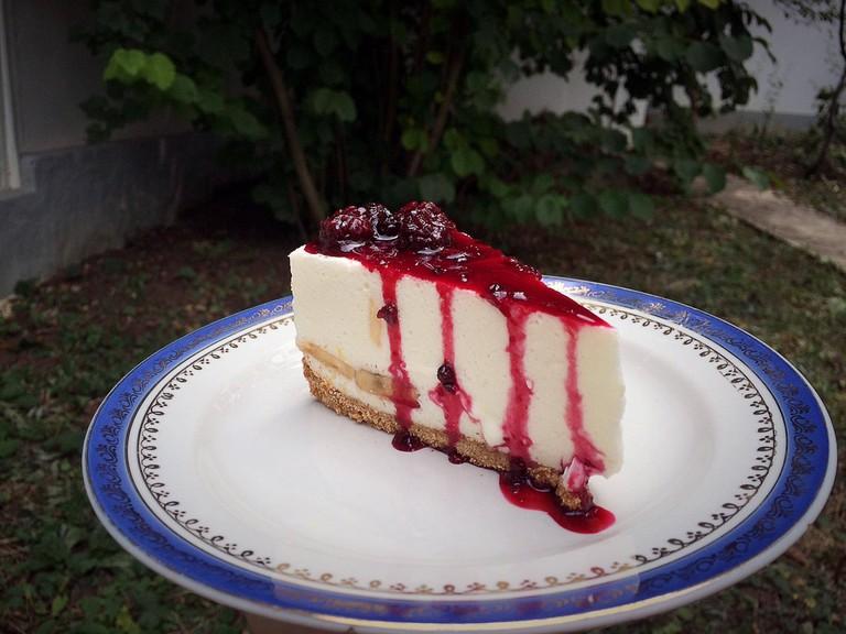 No-bake cheesecake © Tamuna/Flickr