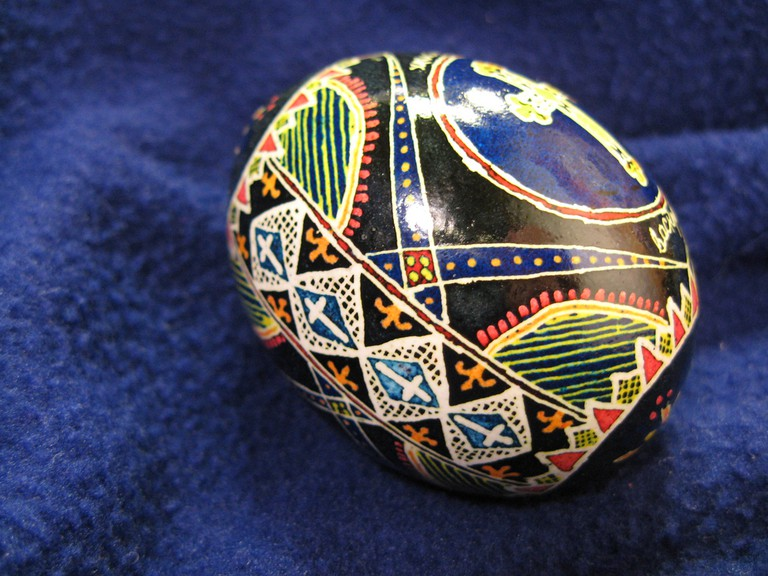 Ukrainian decorated Easter egg © Nancy Sims/Flickr