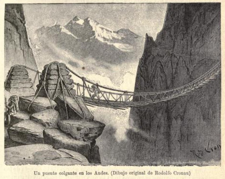 Inca rope bridge | © Patrick Gray/Flickr