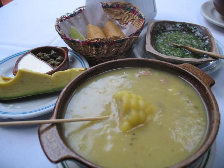 Ajiaco Colombian Cuisine © Mauricio Giraldo / Flickr