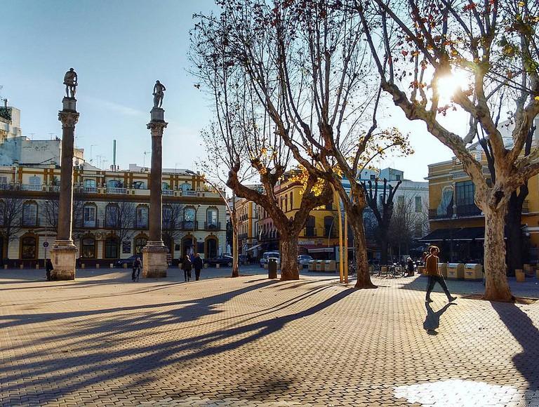 Plaza La Alameda de Hércules © Cinthia Bravo/Flickr
