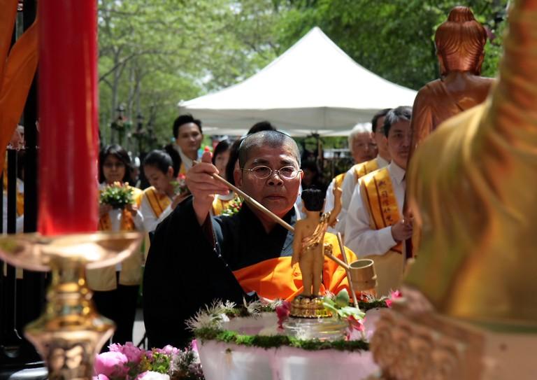 Buddha's Birthday Ceremony ©Paul Stein/Flickr