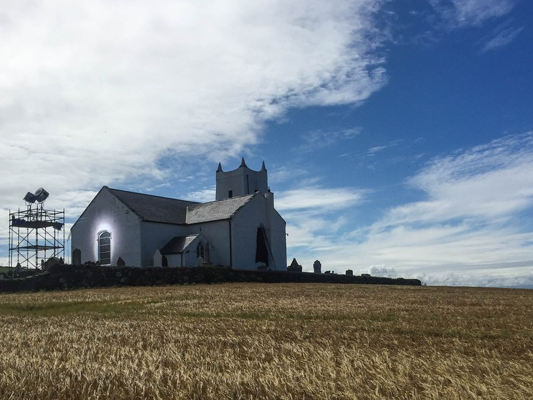 View of Ballintoy Church | © Chris Brooks/ Flickr