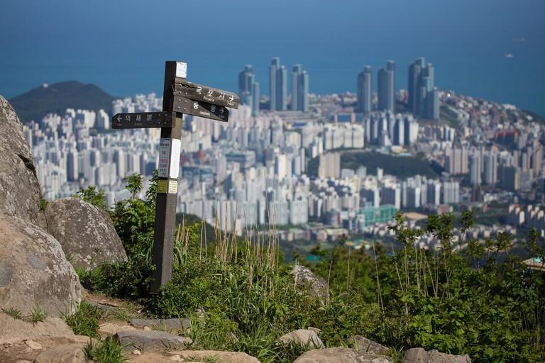 Jangsan Mountain | © Laurie Nevay / Flickr
