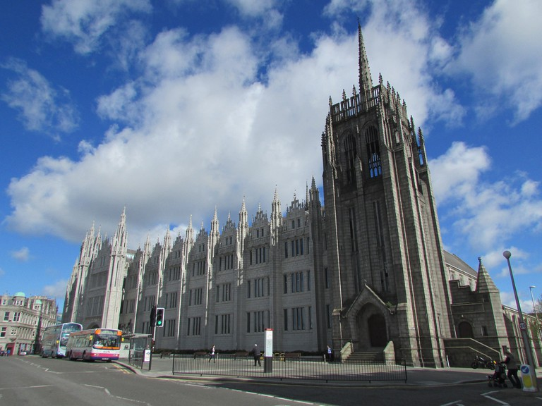 Greyfriar's Church and Marischal College
