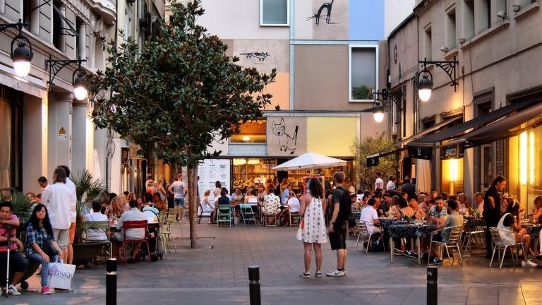 A popular corner of El Raval © Jorge Franganillo