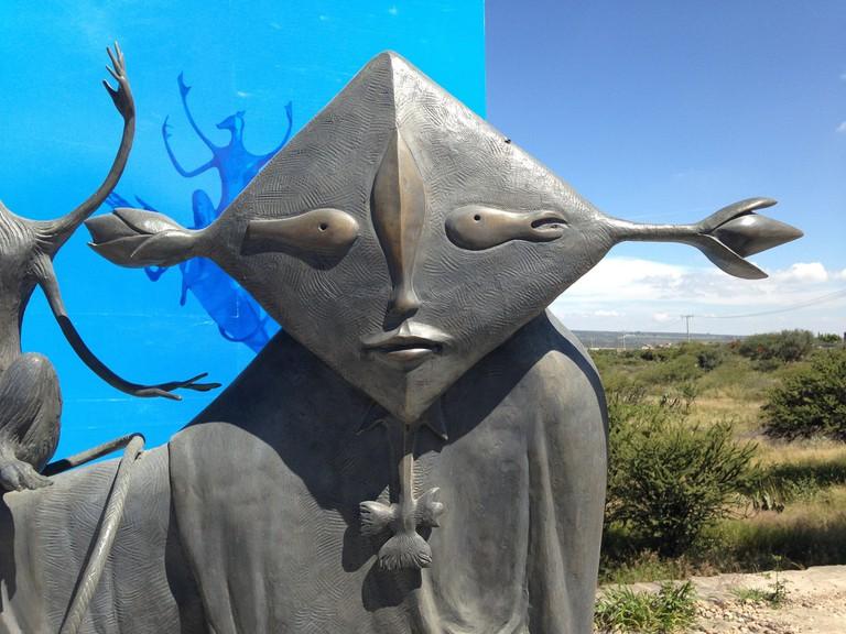Leonora Carrington's sculptural masterpieces | © Fernanda Meraz/Flickr